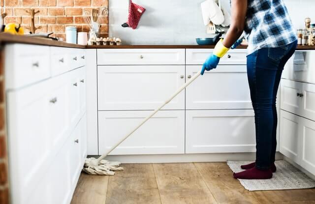 keittiön siivos